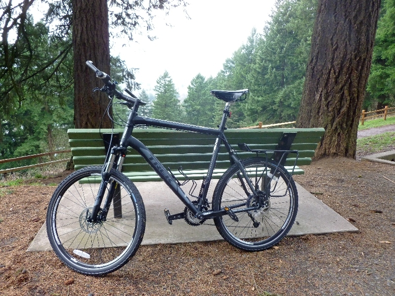 Bicycle atop Mount Tabor