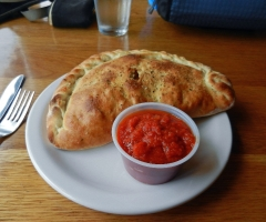 Calzone at Stevenson, WA
